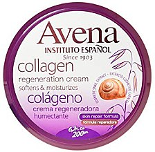Parfumuri și produse cosmetice Cremă pentru corp - Instituto Espanol Avena Collagen Cream
