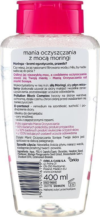 Apă micelară pentru pielea uscată și sensibilă - Soraya Cleansing Mania Micellar Water — Imagine N2