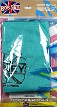 Parfumuri și produse cosmetice Pelerină pentru coafor, azuriu - Ronney Professional Hairdressing Apron Azure
