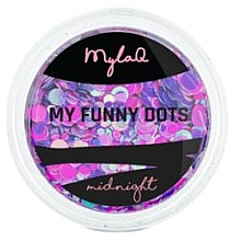 Parfumuri și produse cosmetice Paiete pentru unghii - MylaQ My Funny Dots