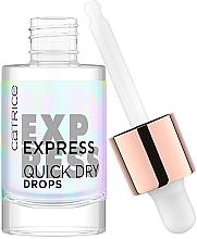 Parfumuri și produse cosmetice Uscător pentru unghii - Catrice Express Quick Dry Drops
