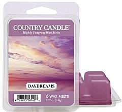 Parfumuri și produse cosmetice Ceară aromată - Country Candle Daydreams Wax Melts