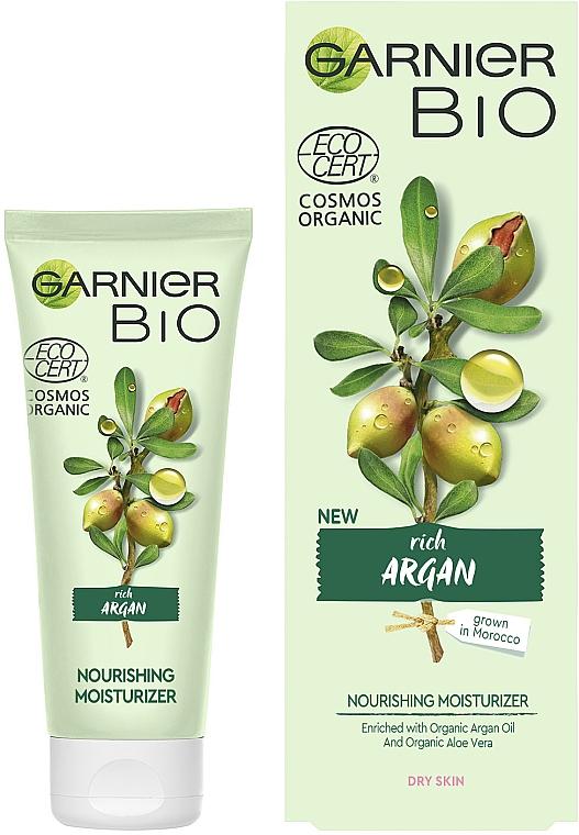 Питательный увлажняющий крем для лица - Garnier Bio Argan — фото N2