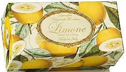 """Parfumuri și produse cosmetice Set săpunuri de toaletă """"Lămâie"""" - Saponificio Artigianale Fiorentino Lemon (Soap/6x50g)"""