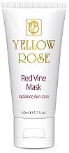 Parfumuri și produse cosmetice Mască de față, polifenol de struguri roșii (tub) - Yellow Rose Red Vine Mask