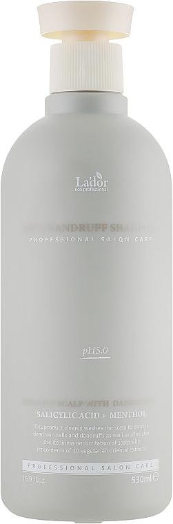 Șampon anti-mătreață - La'dor Anti-Dandruff Shampoo — Imagine N1