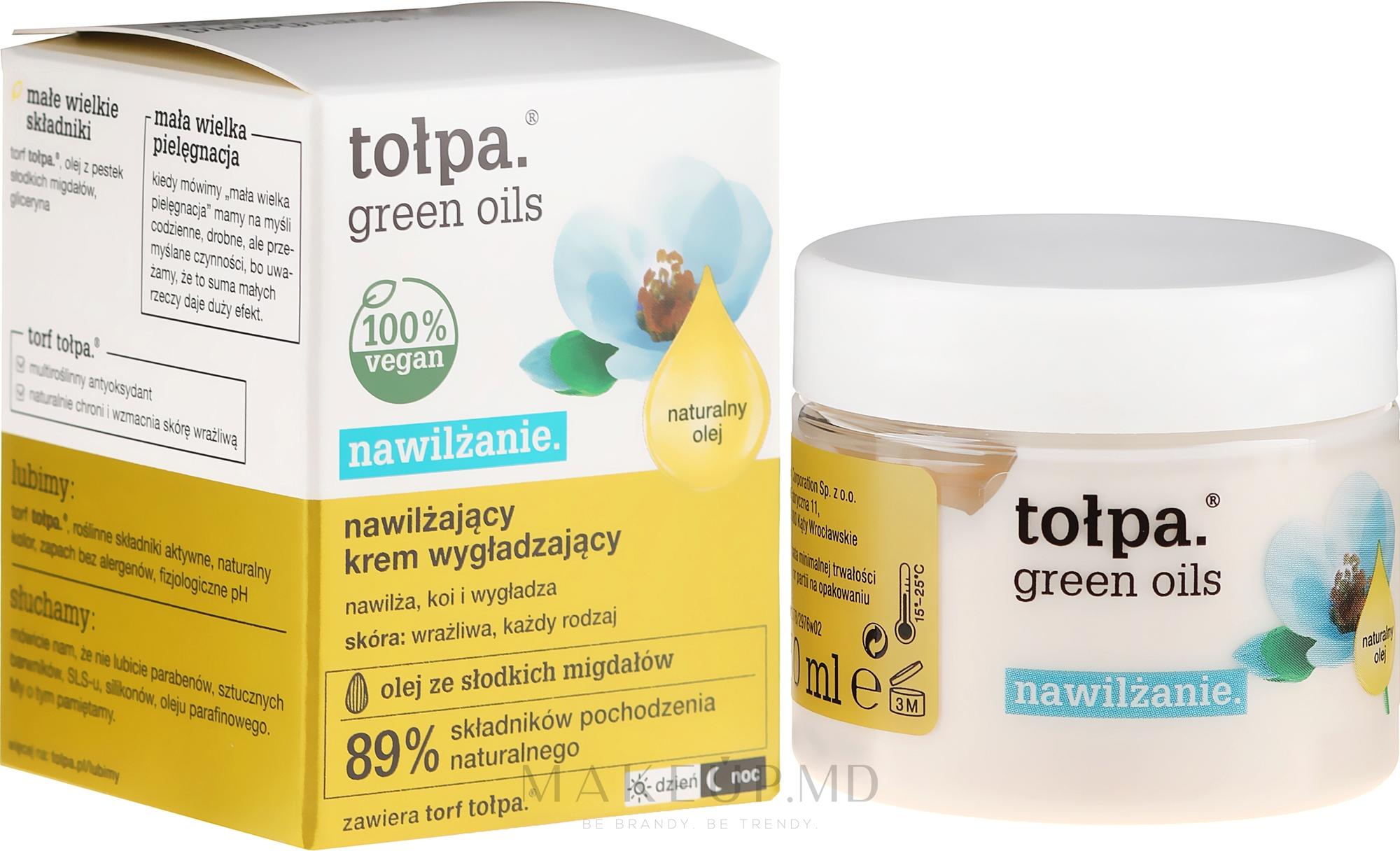 Увлажняющий крем для лица - Tolpa Green Oils Moisturizing Cream — фото 50 ml