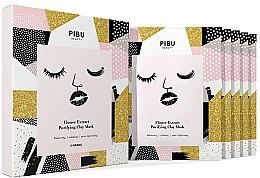 Parfumuri și produse cosmetice Set - Pibu Beauty Flower Extract Purifying Clay Mask Set (f/mask/5x18g)