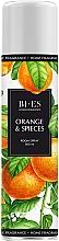 "Parfumuri și produse cosmetice Парфюмированный освежитель воздуха ""Orange & Spieces"" - Bi-Es Home Fragrance Orange & Spieces Room Spray"