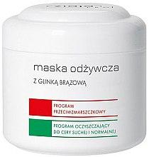 Parfumuri și produse cosmetice Mască de față nutritivă cu argilă brună - Ziaja Pro Nutrition Mask with Brown Clay