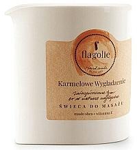 "Parfumuri și produse cosmetice Lumânare pentru masaj ""Caramel netezitor"" - Flagolie Caramel Smoothing Massage Candle"