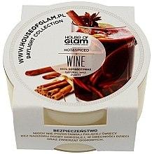 Parfumuri și produse cosmetice Lumânare parfumată - House of Glam Hot Spiced Wine Candle (mini)