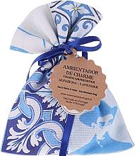 Parfumuri și produse cosmetice Pliculeț aromat, alb-albastru, lavandă - Essencias De Portugal Tradition Charm Air Freshener