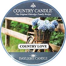 Parfumuri și produse cosmetice Lumânare de ceai - Country Candle Country Love
