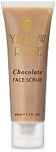 Духи, Парфюмерия, косметика Exfoliant energizant de ciocolată - Yellow Rose Chocolate Face Scrub