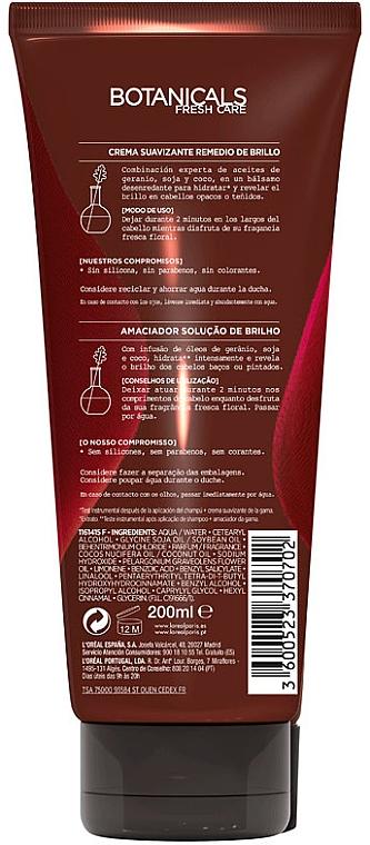 Crema de păr - L'Oréal Paris Botanicals Geranium Cream — Imagine N3