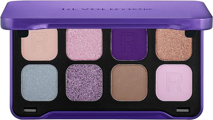 Paletă fard de ochi, 8 nuanțe - Makeup Revolution Forever Flawless Dynamic