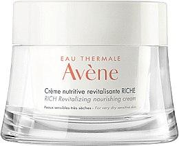 Parfumuri și produse cosmetice Cremă nutritivă pentru față - Avene Rich Revitalizing Nourishing Cream