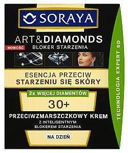 Cremă de zi pentru față - Soraya Art&Diamonds Day Cream 30+ — Imagine N1