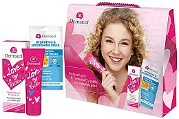 Parfumuri și produse cosmetice Set - Dermacol Love My Face (cr/50ml + mask/15ml)