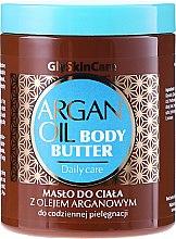 Parfumuri și produse cosmetice Unt de corp cu ulei de argan - GlySkinCare Argan Oil Body Butter