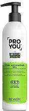 Parfumuri și produse cosmetice Gel activator pentru bucle - Revlon Professional Pro You The Twister Scrunch Curl Activator Gel