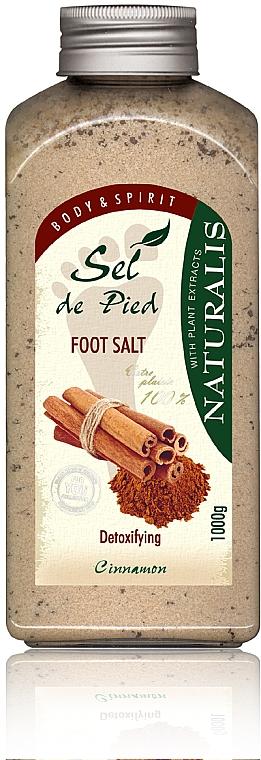 Sare de baie pentru picioare - Naturalis Sep de Pied Cinnamon Foot Salt
