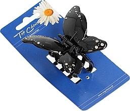 Parfumuri și produse cosmetice Agrafă de păr 24535, neagră - Top Choice