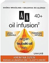 Parfumuri și produse cosmetice Cremă de zi antirid - AA Oil Infusion Day Cream Against Wrinkles 40+