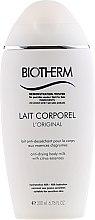 Parfumuri și produse cosmetice Lapte hidratant de corp - Biotherm Lait Corporel Body Milk (tester)