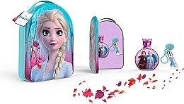 Parfumuri și produse cosmetice Disney Frozen II - Set (edt/100ml + lipgloss/6ml + bag)
