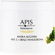 Parfumuri și produse cosmetice Mască alginată pentru față - APIS Professional Vitamin-Balance Algae Mask