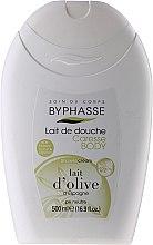 Parfumuri și produse cosmetice Cremă de duș - Byphasse Caresse Shower Cream Olive Milk