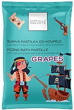 Духи, Парфюмерия, косметика Tabletă efervescentă pentru baie - Gabriella Salvete Fizzing Bath Pastille Grapes