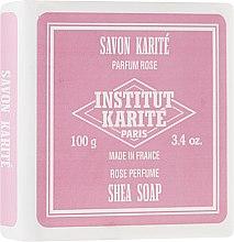 Parfumuri și produse cosmetice Săpun - Institut Karite Rose Shea Soap