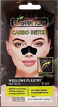 Parfumuri și produse cosmetice Colante negre pe nas - Bielenda Carbo Detox
