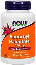 "Parfumuri și produse cosmetice Supliment alimentar ""Ascorbil palmitat"", 500 mg - Now Foods Ascorbyl Palmitate"