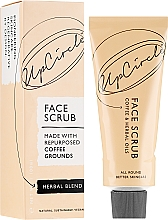 "Parfumuri și produse cosmetice Scrub pentru față ""Plante"" - UpCircle Coffee Face Scrub Herbal Blend"