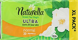 Parfumuri și produse cosmetice Absorbante, 20 bucăți - Naturella Green Tea Magic
