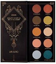 Parfumuri și produse cosmetice Paletă farduri de ochi - Zoeva Aristo Eyeshadow Palette