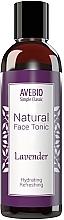 Parfumuri și produse cosmetice Tonic natural pentru față - Avebio Natural Face Tonic Lavander