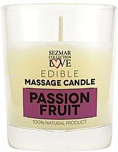 """Parfumuri și produse cosmetice Lumânare naturală pentru masaj """"Fructul pasiunii"""" - Hristina Cosmetics Sezmar Collection Passion Fruit"""