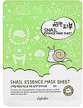 Parfumuri și produse cosmetice Mască din țesătură cu melc - Esfolio Pure Skin Snail Essence Mask Sheet