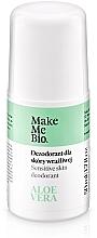 Parfumuri și produse cosmetice Натуральный дезодорант с экстрактом алоэ вера - Make Me Bio Deo Natural Roll-on