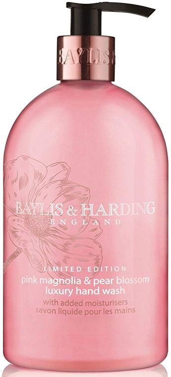 Săpun lichid pentru mâini - Baylis & Harding Magnolia & Pear Blossom Hand Wash