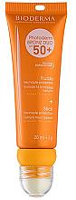 Parfumuri și produse cosmetice Солнцезащитный флюид и стик для губ - Bioderma Photoderm Bronz Duo SPF50+ Fluide + Stick