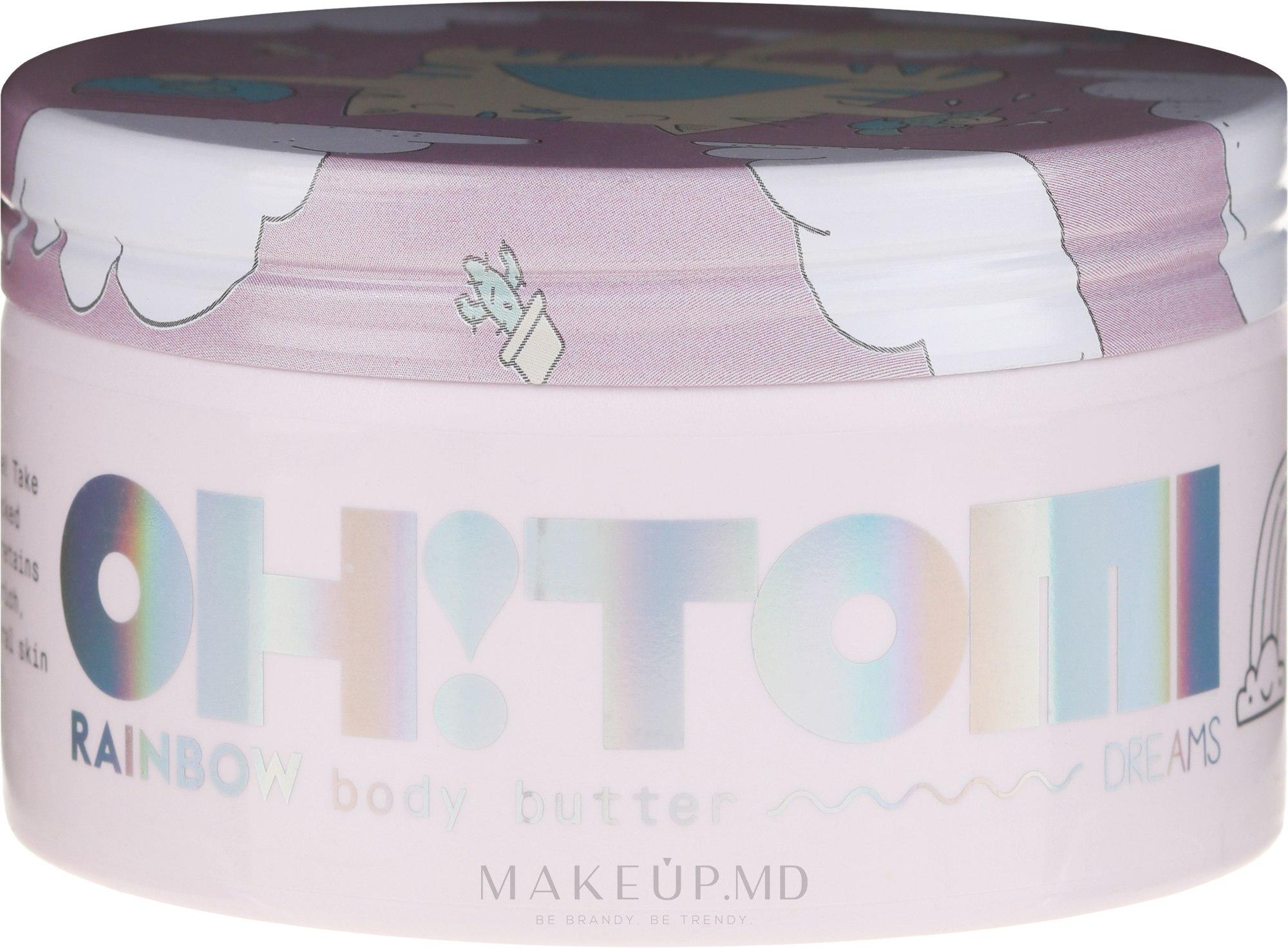 "Масло для тела ""Радуга"" - Oh!Tomi Dreams Rainbow Body Butter  — фото 200 g"