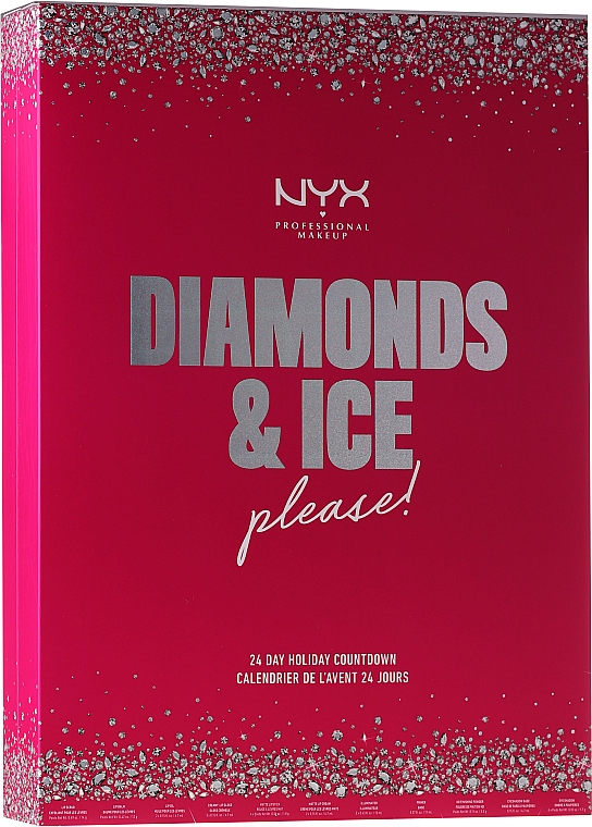 "Set ""Calendar de Crăciun"" - NYX Professional Makeup Diamond & Ice Advent Calendar Makeup Set"