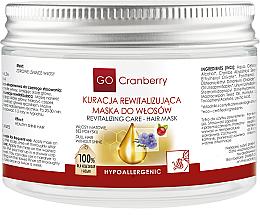 Parfumuri și produse cosmetice Mască pentru păr gras - GoCranberry Revitalizing Hair Mask