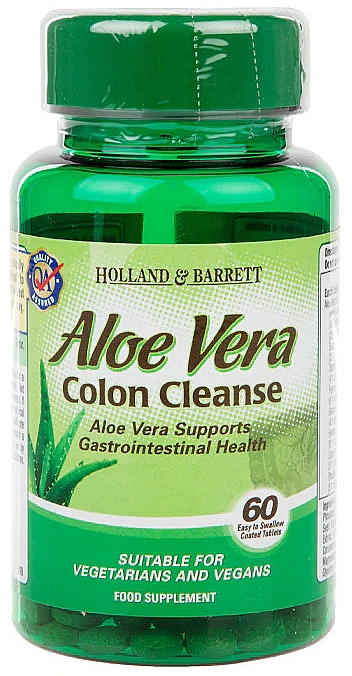 "Supliment alimentar ""Aloe Vera"" - Holland & Barrett Aloe Vera Colon Cleanse"